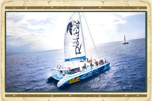 Island Routes Survivor Catamaran Cruise