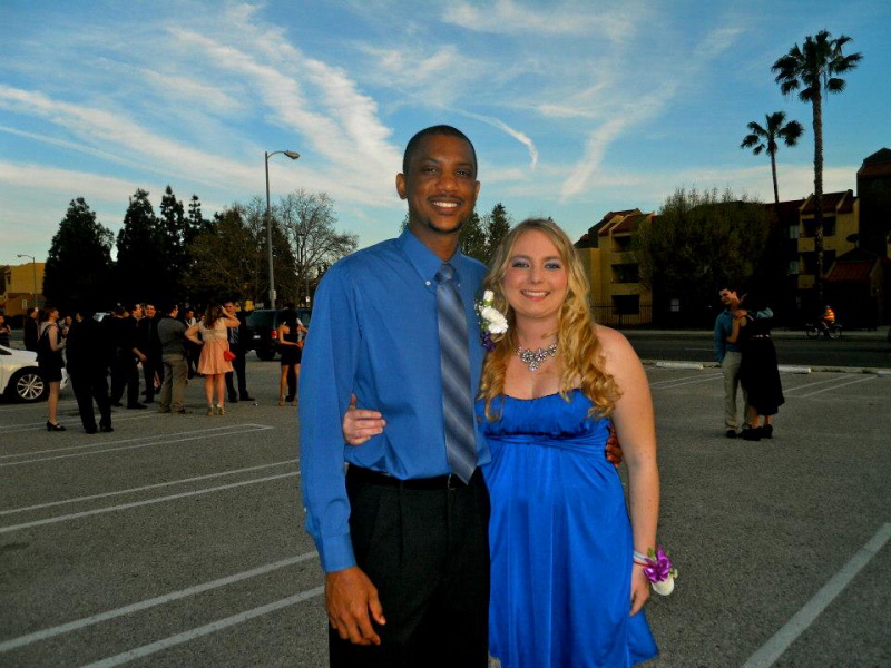 Emily Behrendt and Marquis Knowles